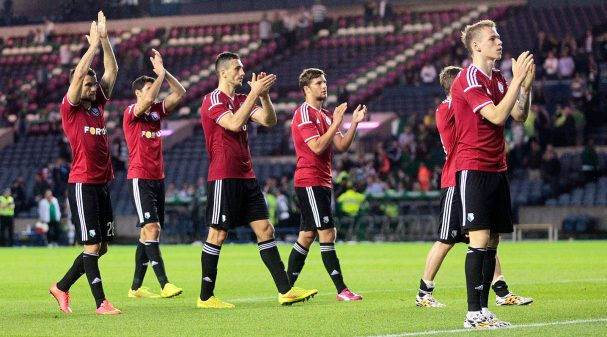 Celtic v Legia Warsaw - UEFA Champions League Third Qualifying Round Second Leg
