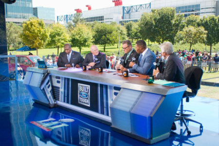 FOX NFL SUNDAY Desk in Houston