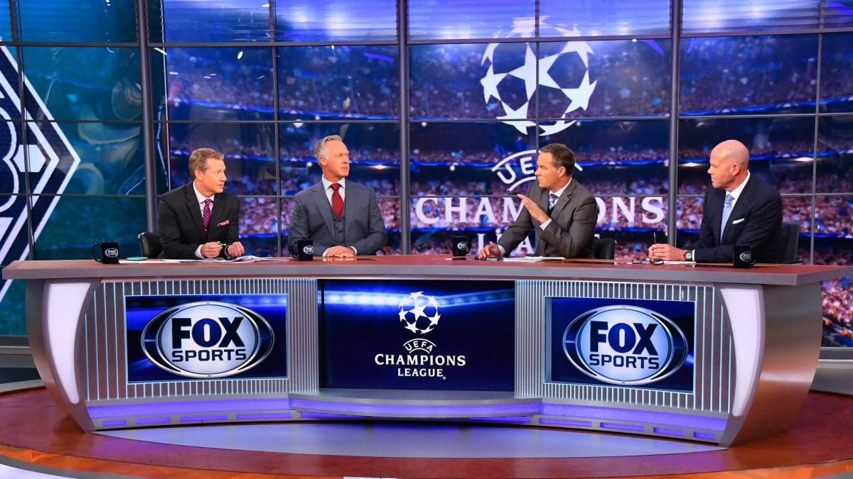 Rob Stone, Warren Barton, Eric Wynalda and Brad Friedel Debate UEFA Champions League