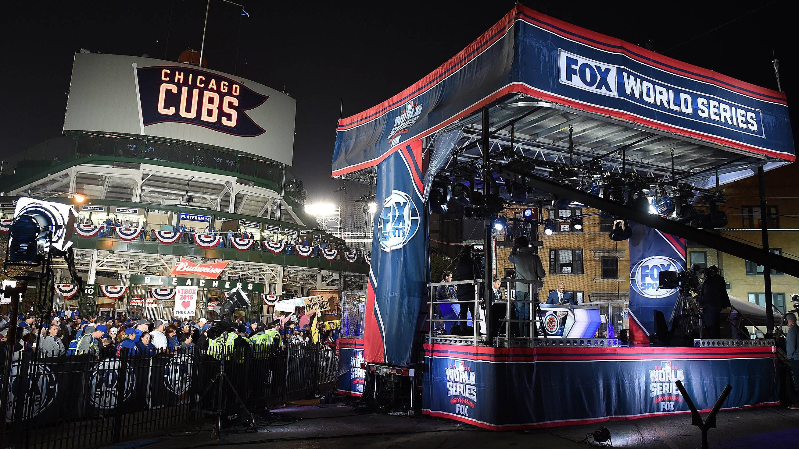 2016 World Series Wrigley Field Set