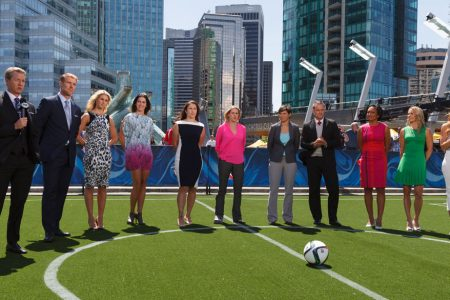 FOX Sports' Women's World Cup Studio Hosts & Analysts in Vancouver