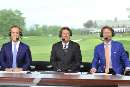 Joe Buck, Paul Azinger and Brad Faxon