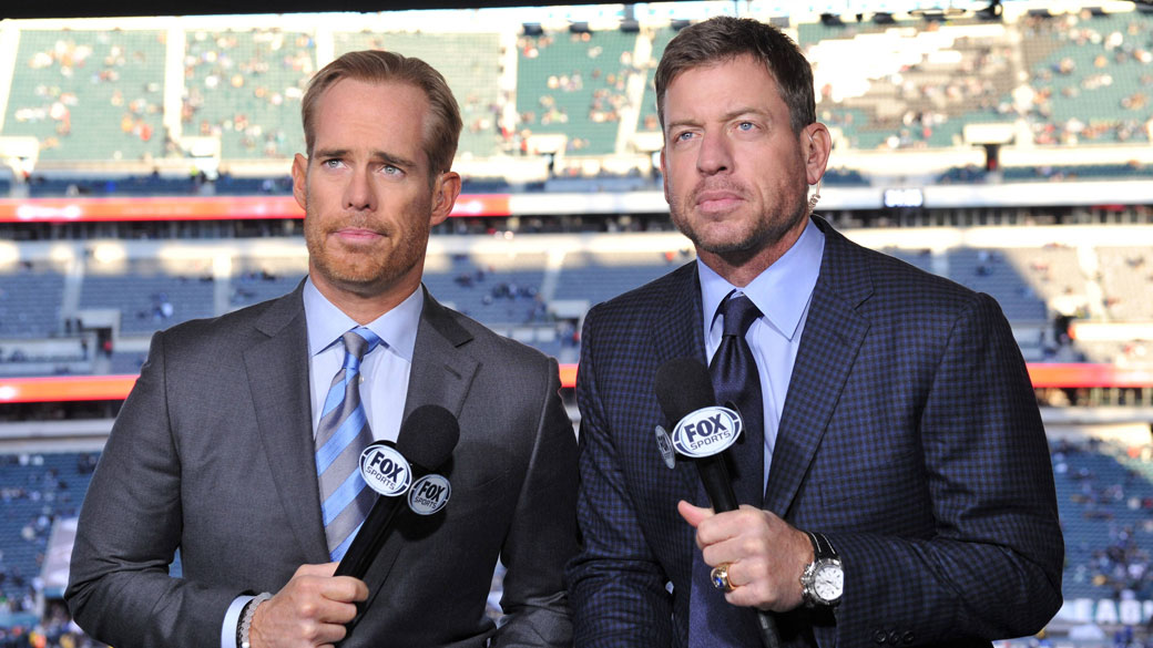 Image result for troy aikman in booth