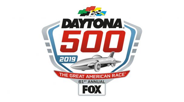 Daytona 500 Primary Logo 2017: Fox Sports PressPass