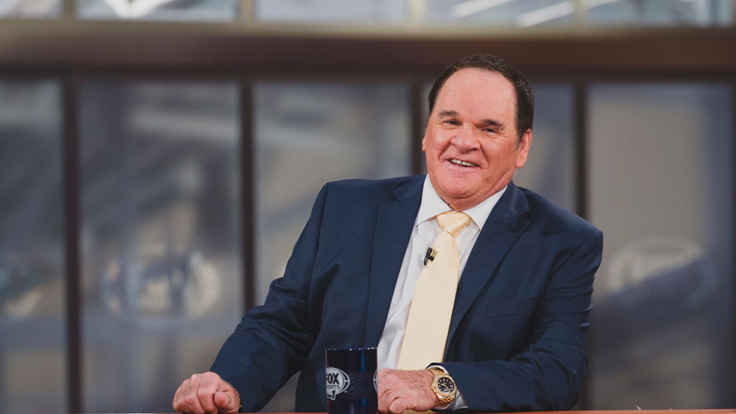 Pete Rose on the MLB WHIPAROUND Set
