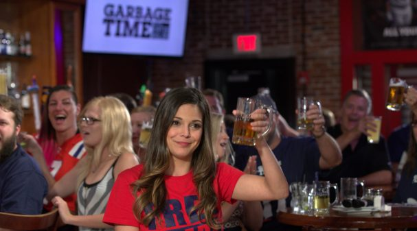 Katie Nolan on GARBAGE TIME