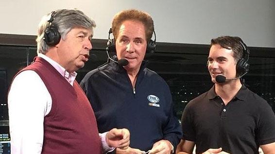 Gordon-FOX-NASCAR-rehearsal