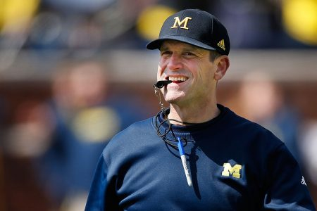 Harbaugh-Michigan