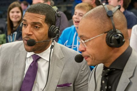 Jim Jackson and Gus Johnson