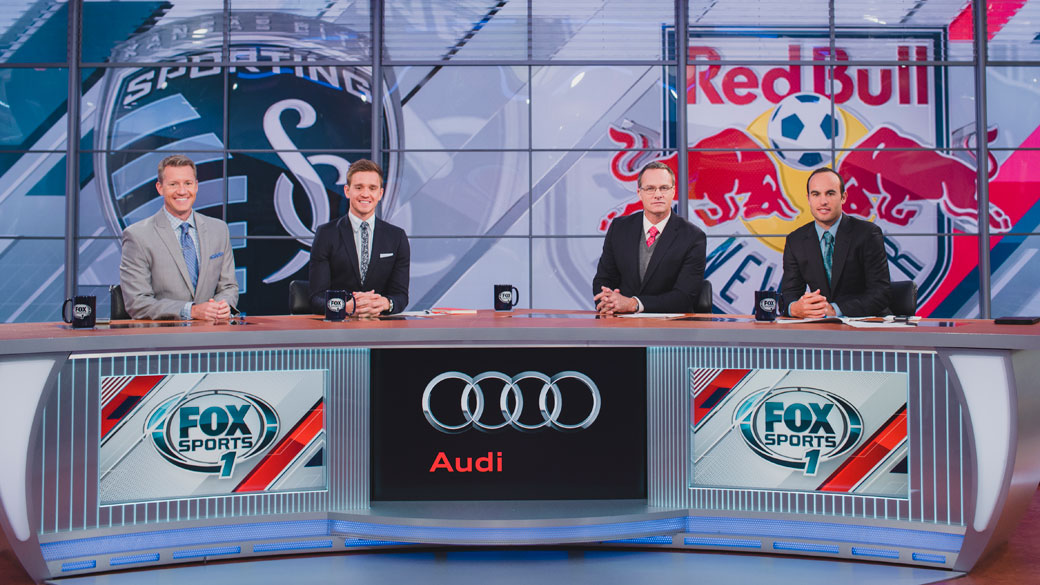 Rob Stone, Stu Holden, Eric Wynalda & Landon Donovan on FOX MLS Pregame