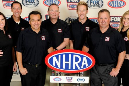 2016 NHRA on FOX Broadcast Team