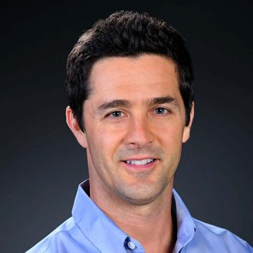 Jeff Emig of the Supercross broadcasting team for Speed Channel.