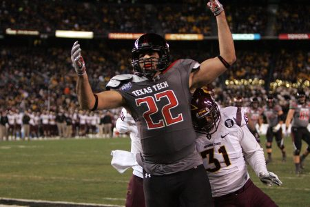 NCAA Football: Holiday Bowl-Arizona State vs Texas Tech