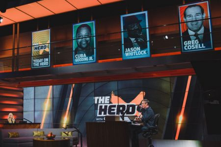 Colin Cowherd & Kristine Leahy on THE HERD