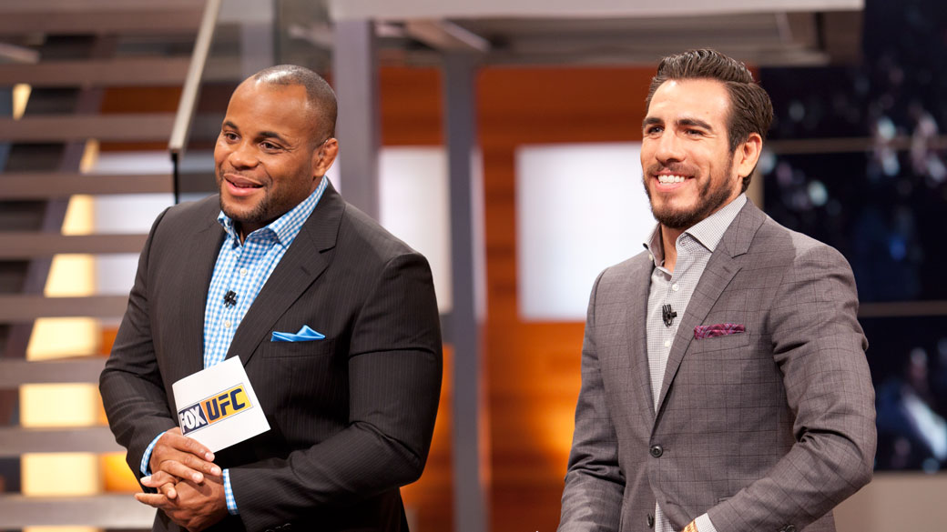 Daniel Cormier and Kenny Florian