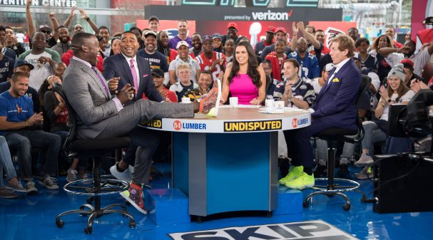 Shannon Sharpe, Cris Carter, Joy Taylor and Skip Bayless on UNDISPUTED