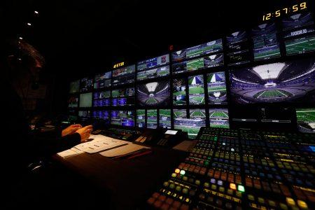 NFL Production Truck