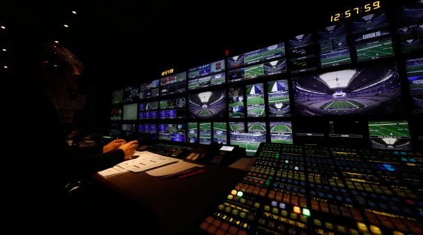 NFL Production Truck