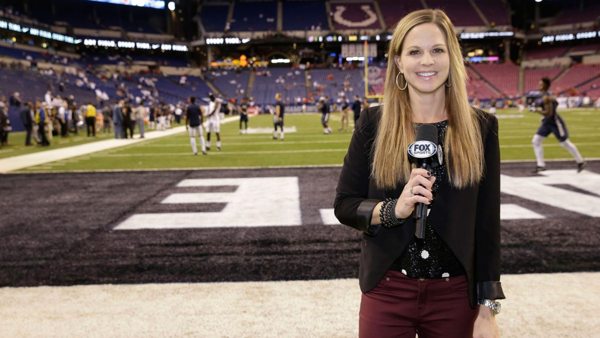 Shannon Spake at 2016 Big Ten Championship