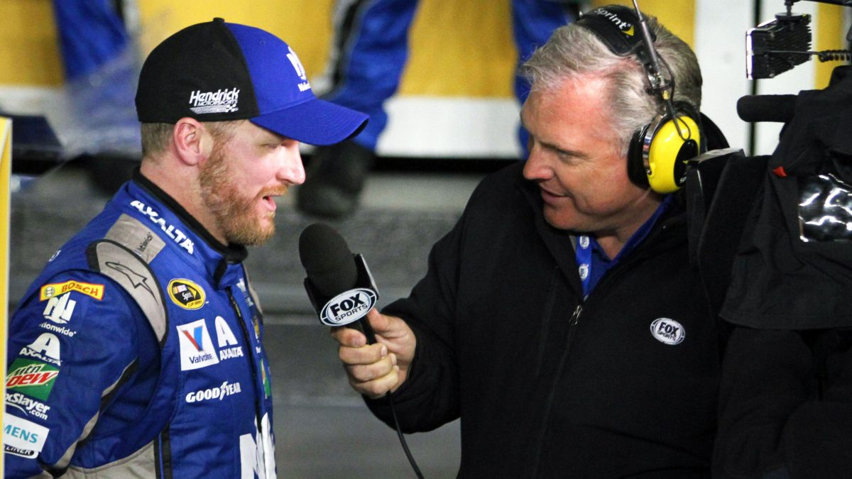 Matt Yocum with Dale Earnhardt Jr.