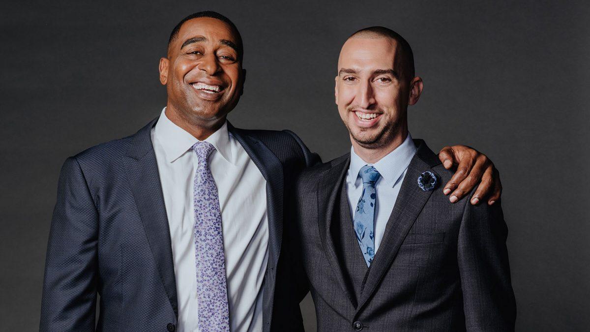 Cris Carter and Nick Wright