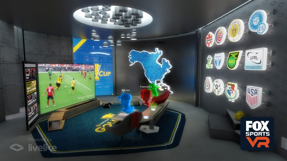 Fox Sports VR Gold Cup