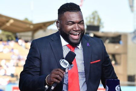 David Ortiz at 2017 World Series