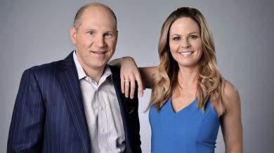 Adam Alexander and Shannon Spake