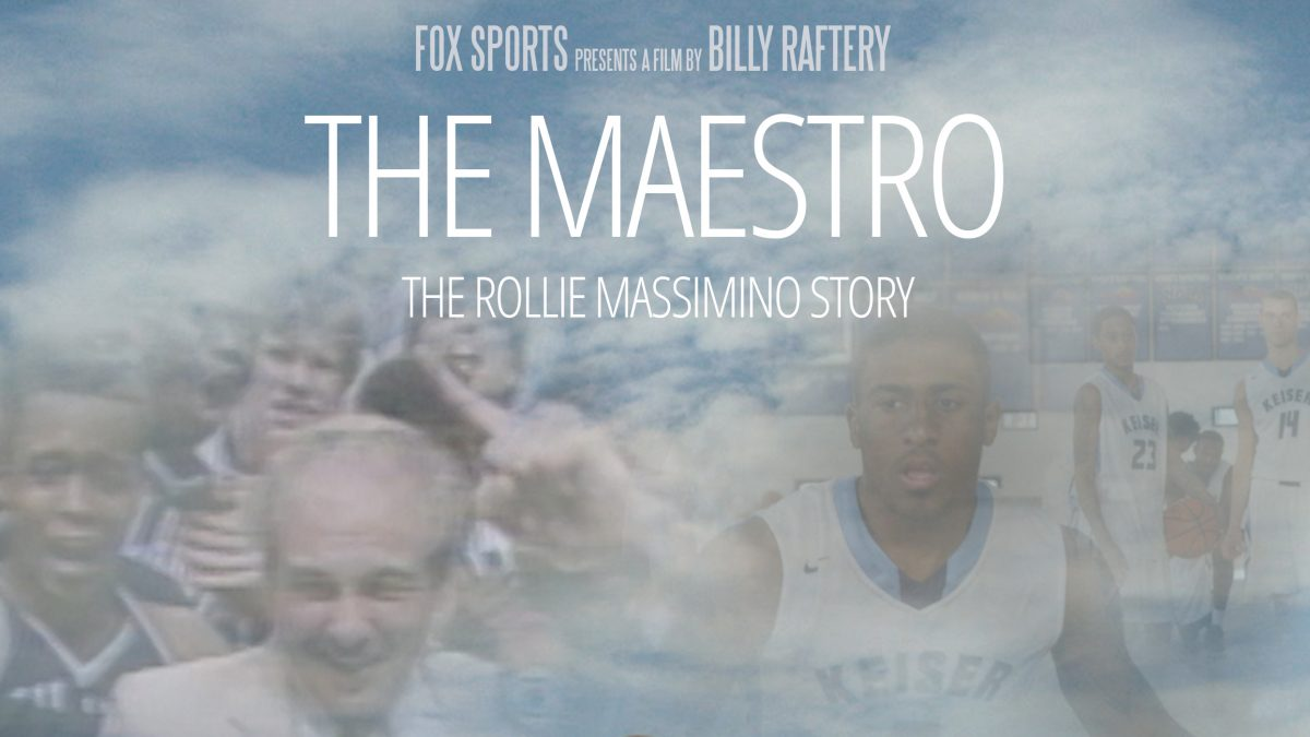 """""""THE MAESTRO: THE ROLLIE MASSIMINO STORY"""" Poster"""