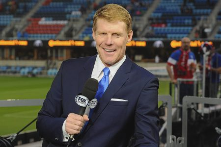 Alexi Lalas at 2018 FIFA World Cup Russia™ Qualifier