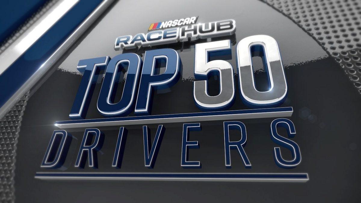 NASCAR RACE HUB Top 50 Drivers