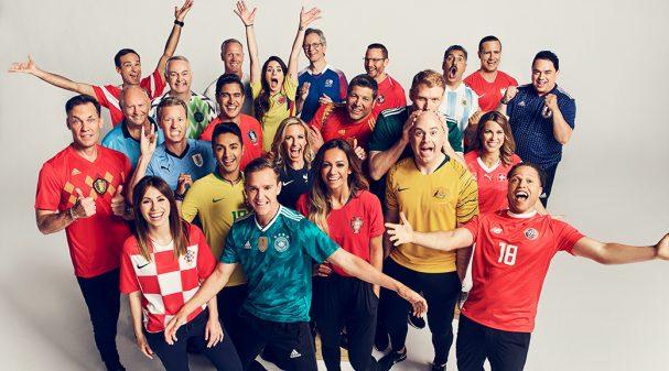 FOX Sports 2018 FIFA World Cup Russia™ Broadcast Team
