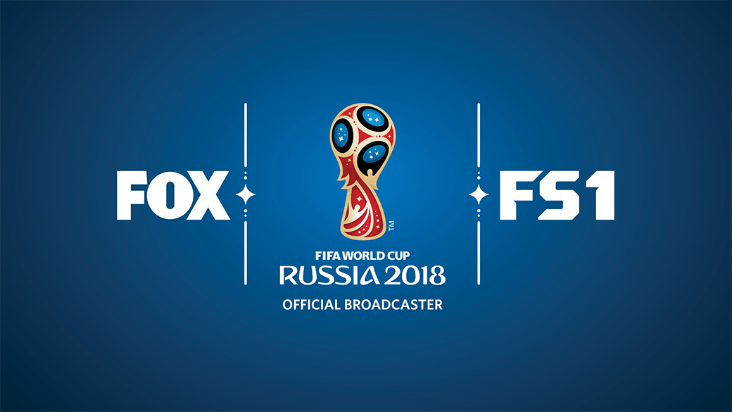 FIFA World Cup™ on FOX and FS1 Logo