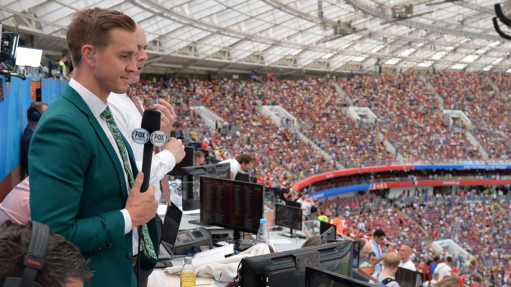 Stu Holden at the 2018 FIFA World Cup Russia™