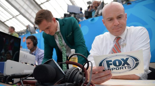 Stu Holden and John Strong at the Stu Holden at the 2018 FIFA World Cup Russia™