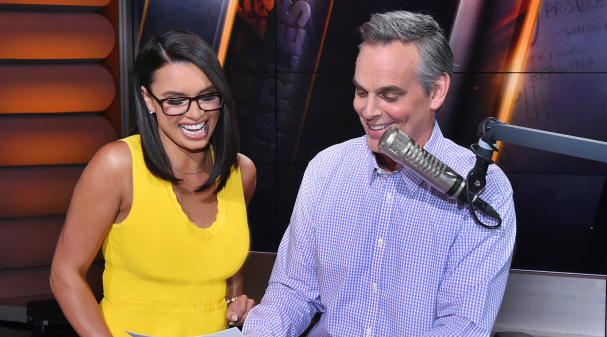 Joy Taylor and Colin Cowherd