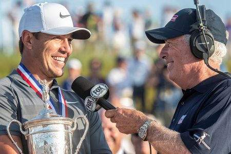 Back-to-Back U.S. Open Champions Brooks Koepka and Curtis Strange