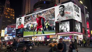 World Cup Times Square Rendering