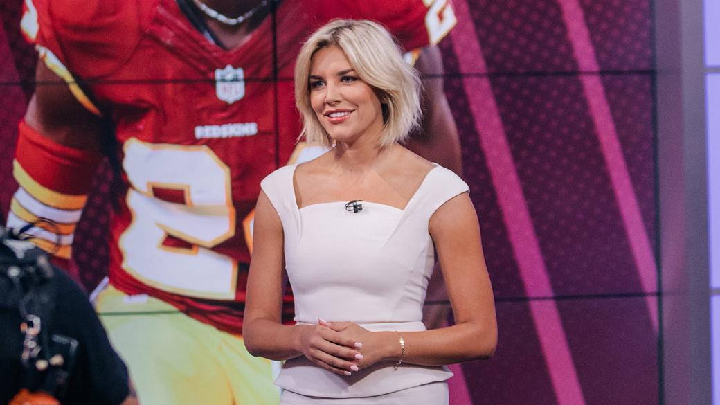 Charissa Thompson on FOX NFL KICKOFF
