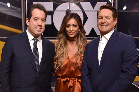 Kenny Albert, Kate Abdo and Chris Myers