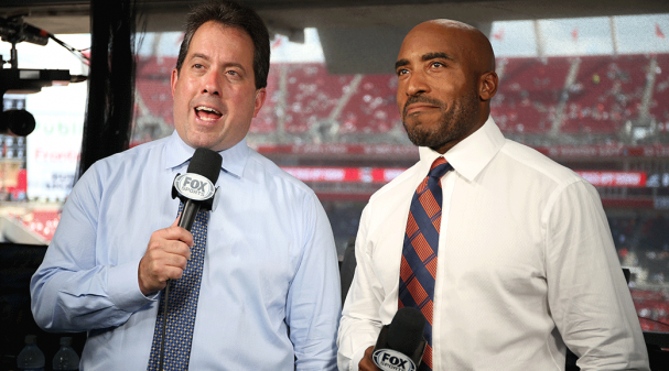 Kenny Albert and Ronde Barber