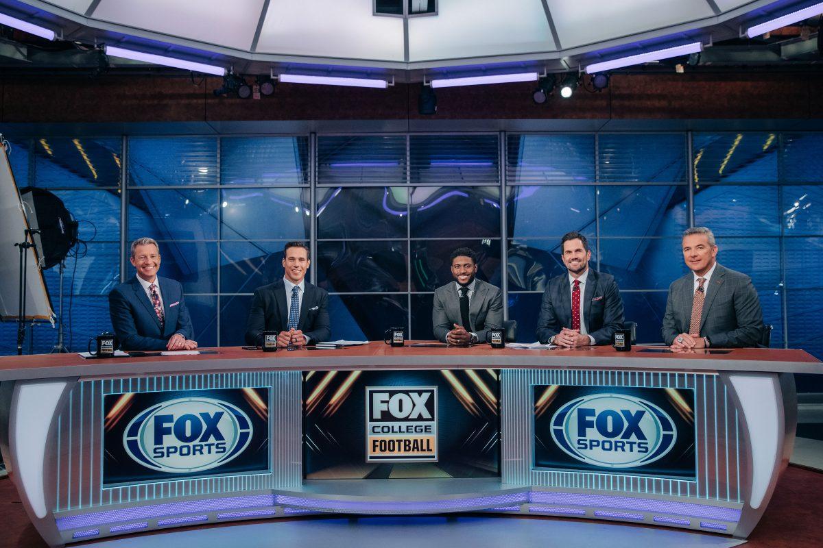 Rob Stone, Brady Quinn, Reggie Bush, Matt Leinart and Urban Meyer