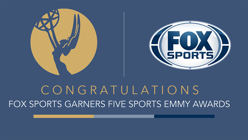 FOX Sports Scores Five Sports Emmy Awards | Fox Sports PressPass