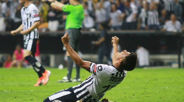 MONTERREY, MEXICO - MAY 01: Jesus Gallardo of Monterrey celebrates after the victory during the final second leg match between Monterrey and Tigres UANL as part of the CONCACAF Champions League 2019 at BBVA Bancomer Stadium on May 1, 2019 in Monterrey, Mexico. (Photo by Alfredo Lopez/Jam Media/Getty Images)