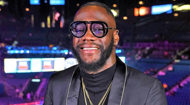 LAS VEGAS - JULY 20: Fox Sports' Deonte Wilder attends the FOX Sports PBC Pay-Per-View and PBC on Fox Fight Night at the MGM Grand Garden Arena on July 20, 2019 in Las Vegas, Nevada. (Photo by Stewart Cook/Fox Sports/PictureGroup)