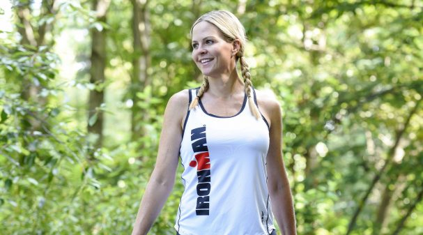 Shannon Spake balances a demanding schedule as a Fox Sports broadcaster along with a regimented training schedule for her upcoming Ironman races.