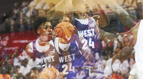 Team West at 2019 Jr. NBA Global Championship