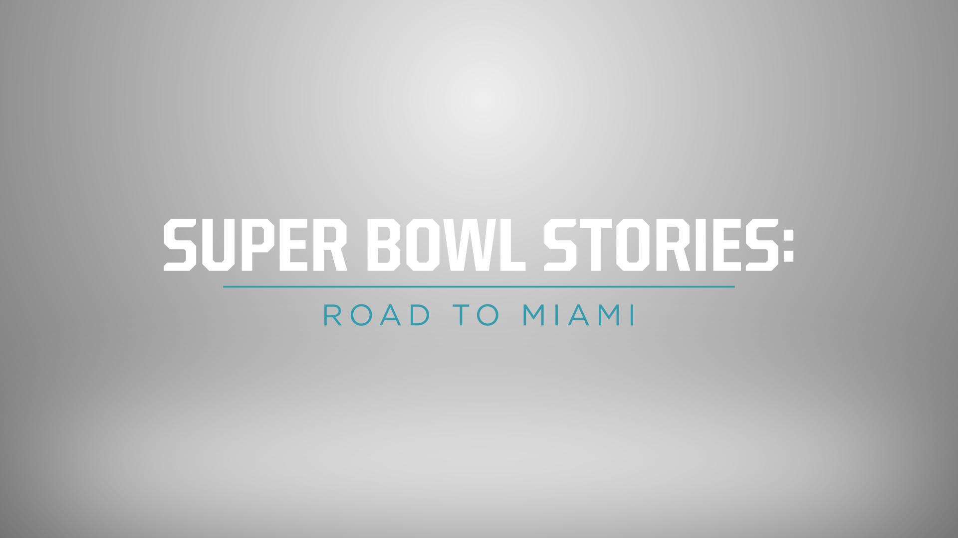 Super Bowl Stories Road To Miami Kicks Off Fox Sports 100 Day Countdown To Super Bowl Liv Fox Sports Presspass