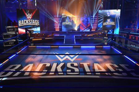 WWE Backstage Set