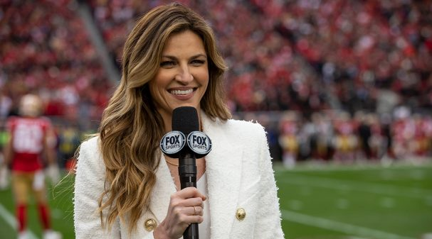 Erin Andrews at 2020 NFC Championship Game